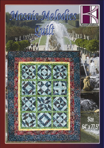 Kenny Kreations Mosaic Melodies Multiformat Quilt Embroidery Design CD
