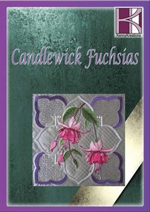 Kenny, Kreations, Candlewick, Fuchsia, Collection, Multi, format, Embroidery, Design, CD