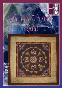 Kenny, Kreations, Cabochon, Treasures, Multi, format, Quilt, Embroidery, Design, CD