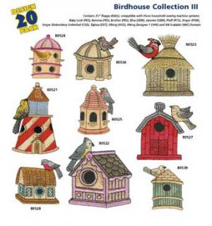 Amazing Designs / Great Notions 1252 Birdhouse III Multi-Formatted CDnohtin