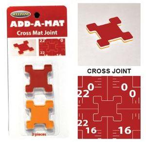 Sullivans 39233 Cross Joint x 2, for Add A Mat