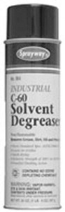 Sprayway C-60 Solvent Spray Degreaser Cleaner 16oz Can, Motors, Metals*
