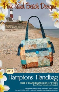 Pink Sand Beach PSB116 Designs Hamptons Handbag Sewing Pattern