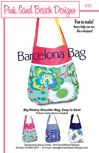 Pink Sand Beach Designs Barcelona Bag Patternnohtin
