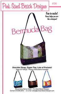 Pink Sand Beach Designs Bermuda Bag Patternnohtin