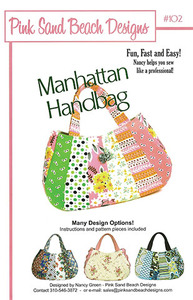 Pink Sand Beach Designs Manhattan Handbag Pattern