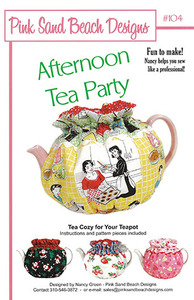 Pink Sand Beach Designs Afternoon Tea Party Pattern