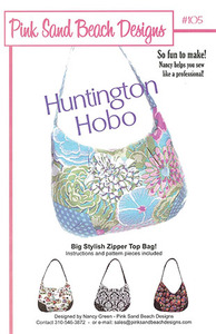 Pink Sand Beach Designs Huntington Hobo Pattern