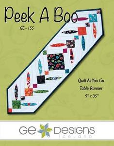 G.E. Designs Peek-A-Boo Quilting Pattern