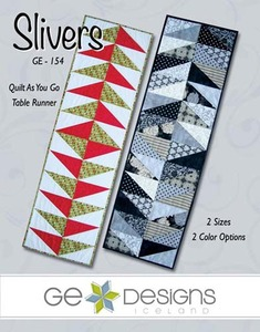 G.E. Designs Slivers Quilting Pattern