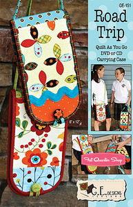 G.E. Designs Road Trip Quilting Pattern