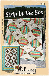 G.E. Designs Strip In The Box Quilting Pattern