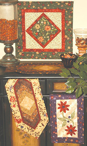 G.E. Designs Quiltie Trio Quilting Pattern