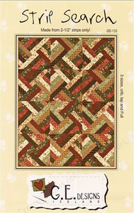 G.E. Designs Strip Search Quilting Pattern