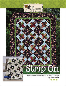 G.E. Designs Strip On Quilting Book