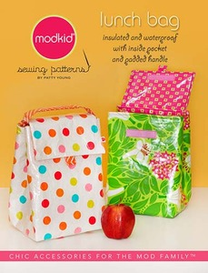 modkid Lunch Bag Sewing Pattern