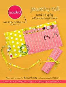 modkid Jewelry Roll Sewing Pattern