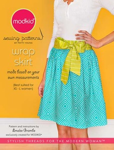 modkid Wrap Skirt Sewing Pattern