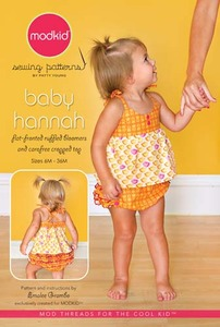 modkid Baby Hannah Sewing Pattern