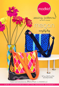 modkid Megan: Everyday Bag Sewing Pattern