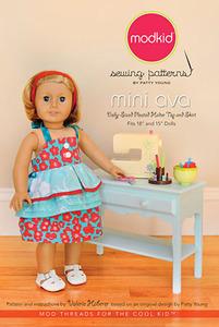 modkid Mini Ava Sewing Pattern