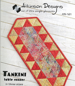 Atkinson Designs Tankini Table Runner Sewing Pattern