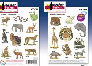 Amazing Designs  1378 Wildlife Collection III Multi-Formatted CD
