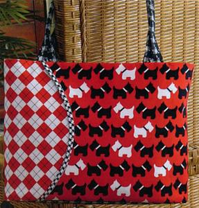 Tiger Lily Press Curved Pocket Cha Cha Bag Sewing Pattern