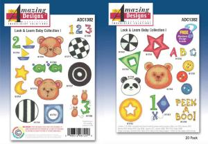 Amazing Designs / Great Notions 1382 Look And Learn Baby  Collection I Multi-Formatted CD