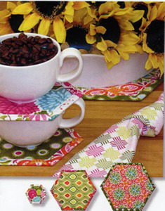 Tiger Lily Press TLP1224 Amazingly Simple Coasters and Hot Pads Sewing Pattern
