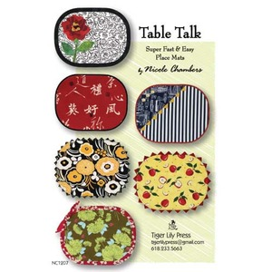 Tiger Lily Press Table Talk Sewing Pattern