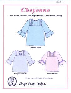Ginger Snaps Designs Cheyenne