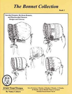 Ginger Snaps Designs The Bonnet Collection, Book I