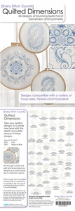 Every Stitch Counts - Quilted Dimensions Embroidery Design CD
