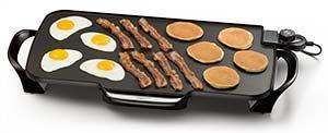 "Presto 07061 22"" Electric Griddle w/removable handlesnohtin"