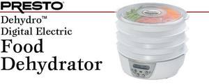 Presto 06301 Dehydro Digital Electric Food Dehyadrator