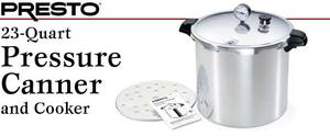 Presto                                     01781 23 Qt. Aluminum Canner