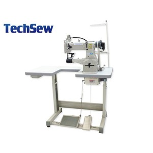"TechSew 2700, GC2301, GC-2301, Cylinder Bed, Walking Foot, Needle Feed, Leather Stitcher, 10.5"" Arm, 10/16mmLift, 5mmSL, Safety Clutch, Top L Bobbin, DC 2200RPM, KD U-Table"