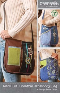 Indygo Junction Creative Crossbody Bag Sewing Pattern