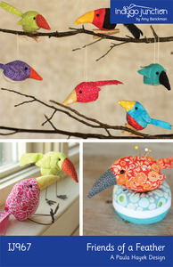 Indygo Junction Friends of a Feather Sewing Pattern