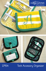 Indygo Junction Tech Accessory Organizer Sewing Pattern