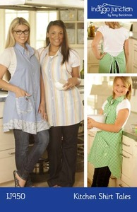Indygo Junction Kitchen Shirt Tails Sewing Pattern