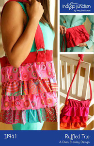 Indygo Junction Ruffled Trio Sewing Pattern