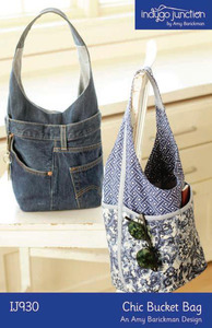 Indygo Junction Chic Bucket Bag Sewing Pattern