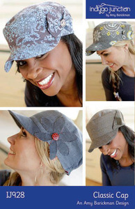 Indygo Junction Classic Cap Sewing Pattern