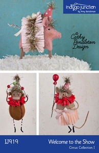Indygo Junction Welcome to the Show - Circus Collection I Sewing Pattern