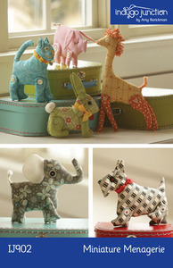 Indygo Junction Miniature Menagerie Sewing Pattern