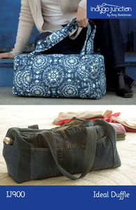 Indygo Junction Ideal Duffle Sewing Pattern