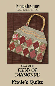 Indygo Junction Field of Diamonds Sewing Pattern