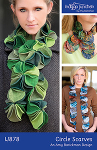 Indygo Junction Circle Scarves Sewing Pattern